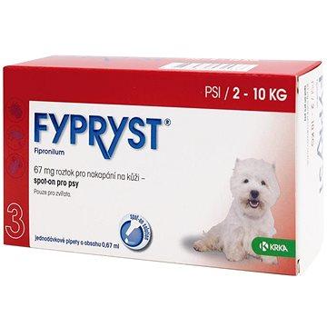 Fypryst spot on pes 2-10 kg S 1 × 0,67 ml (5909990858873)