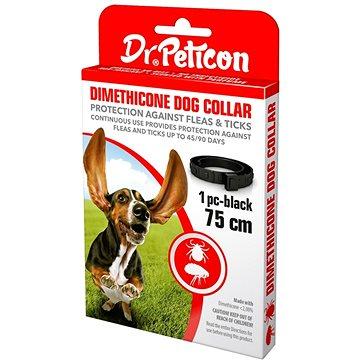 DR.Peticon obojek proti klíšťatům a blechám pro větší psy 75 cm (5999557410859)