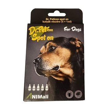 DR.Peticon Pipeta proti klíšťatům a blechám pro malé psy 5 × 1 ml (5999557410873)