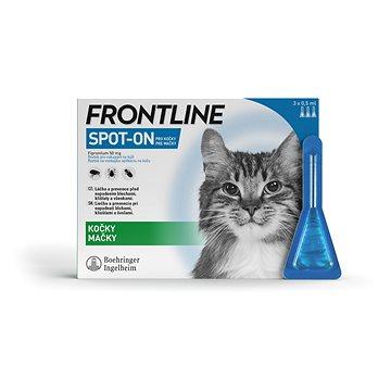 Frontline spot-on cat 3 × 0,5 ml (3661103073703)