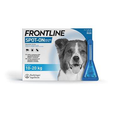 Frontline spot-on dog M 3 × 1,34 ml (3661103073666)