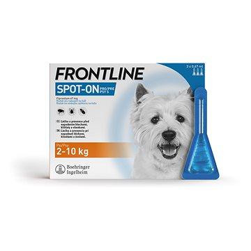 Frontline spot-on dog S 3 × 0,67 ml (3661103073680)