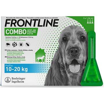 Frontline Combo spot-on dog M 3 x 1,34 ml (3661103073734)