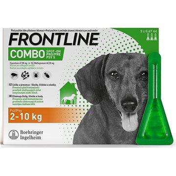 Frontline Combo spot-on dog S 3 x 0,67 ml (0366110307375)