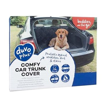 DUVO+ Ochranná deka do kufru auta 147 × 120 cm černá (5414365335434)