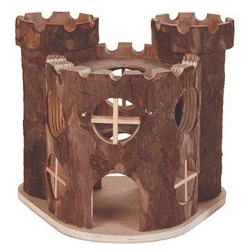 Trixie Dřevěný hrad Matti pro hlodavce 17 × 15 × 12 cm (4011905061689)