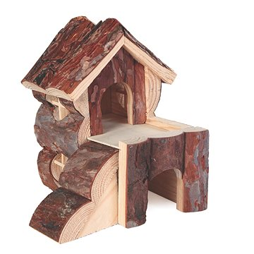 Trixie Dřevěný domek Bjork pro křečky 15 × 15 × 16 cm (4011905061764)