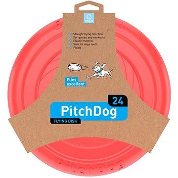 PitchDog létající Disk pro psy růžový 24 cm (4823089308579)