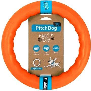 PitchDog tréninkový Kruh pro psy oranžový 28 cm (4823089302454)