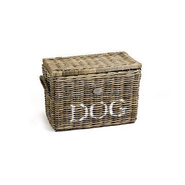 Pet Amour Ratanový kubu koš pro psy a kočky 56 × 31 × 37 cm (8712695116059)