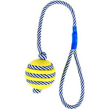 Trixie Vrhací míč na fosforeskující šňůře 5 cm/40 cm (4011905349619)