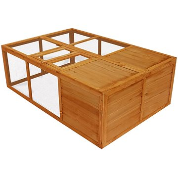 Shumee Klec venkovní skládací dřevěná 150 × 100 × 50 cm (8718475923459)
