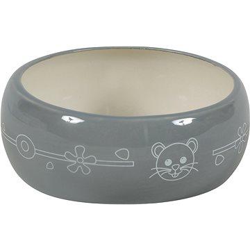 Zolux Miska keramická šedá 300 ml (3336022061079)