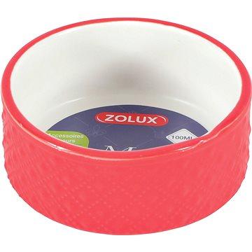 Zolux Miska Margot červená 100 ml (3336022066166)