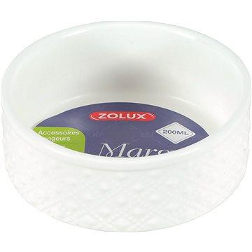 Zolux Miska Margot bílá 200 ml (3336022066128)