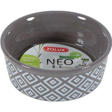 Zolux Miska NEO hnědá 150 ml (3336022066814)