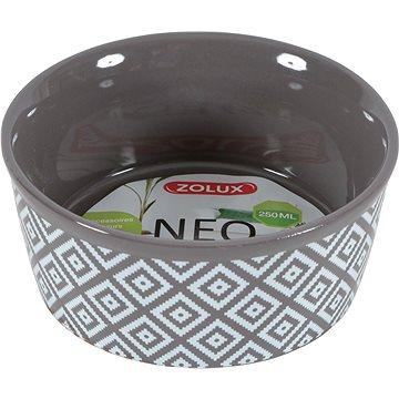 Zolux Miska NEO hnědá 250 ml (3336022066838)