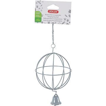 Zolux Závěsná koule kovová šedá (3336022068696)