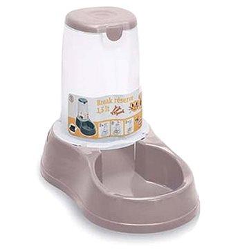 Stefanplast Break Miska na granule se zásobníkem růžová (CHPmf0374nad)