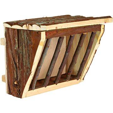 Trixie Jesličky na seno s úchytem na klec dřevěné 20 × 15 × 17 cm (4011905611914)
