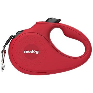 Reedog Senza Basic samonavíjecí vodítko XS 12 kg / 3 m páska / červené (8596067302062)