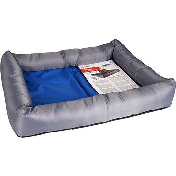 Flamingo Chladící pelíšek pro psy modro/šedý (CHPpe0251nad)