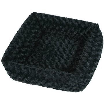 Olala Pets Cube Fuzzy, 53 × 53 cm, černá (8592644170031)
