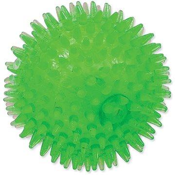 DOG FANTASY hračka míček pískací zelená 10 cm (8595091781225)