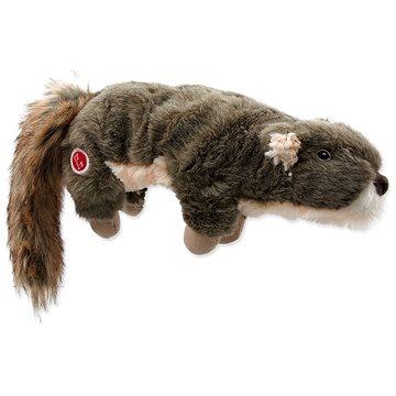 DOG FANTASY hračka plush pískací veverka 45 cm (8595091792023)