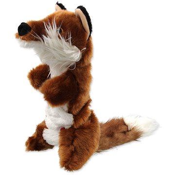DOG FANTASY hračka plush pískací liška 45 cm (8595091792047)