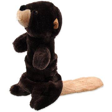 DOG FANTASY hračka plush pískací bobr 45 cm (8595091792054)