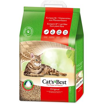 JRS kočkolit cats best original 20 l / 8,6 kg (4002973191217)