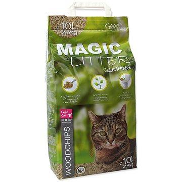 MAGIC PEARLS kočkolit litter woodchips 10 l (2,5 kg) (8595091791156)