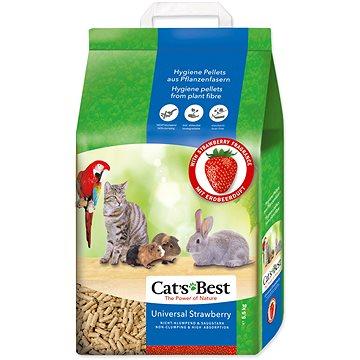 JRS kočkolit cats best universal 10 l / 5,5 kg jahoda (4002973203958)