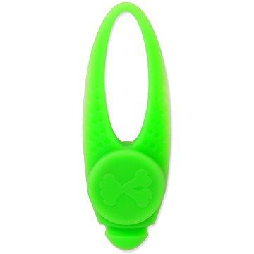 DOG FANTASY Přívěsek LED silikon zelený 8 cm (8595091797080)