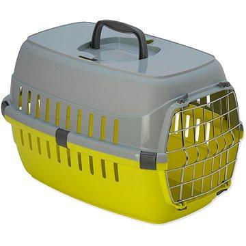 DOG FANTASY přepravka Carrier 48,5 × 32,3 × 30,1 cm žlutá (8595091788132)