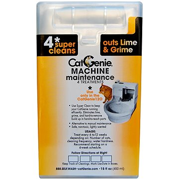 CatGenie 120+ Maintenance cartridge - cartridge k údržbě toalety (891329001539)