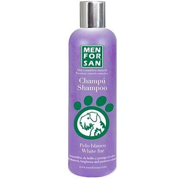 Menforsan Šampon pro zesvětlení bílé srsti pro psy 300 ml (8414580004631)
