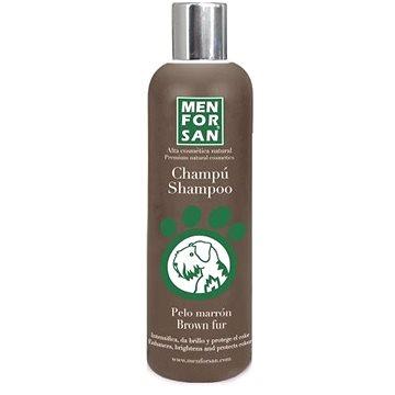 Menforsan Šampon pro zvýraznění hnědé srsti pro psy 300 ml (8414580004617)