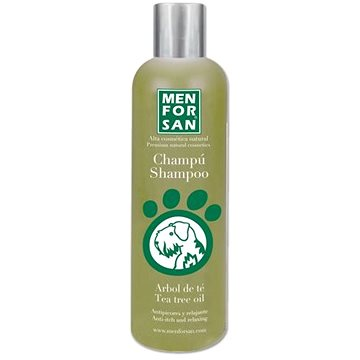 Menforsan Šampon proti svědění s Tea Tree pro psy 300 ml (8414580004822)