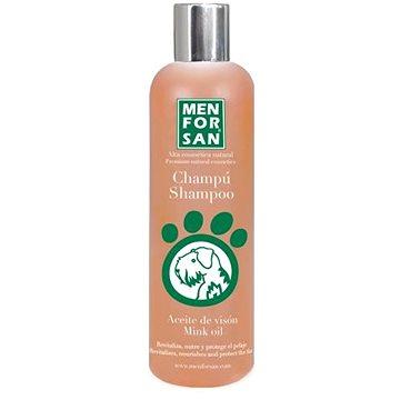 Menforsan Ochranný šampon s norkovým olejem pro psy 300 ml (8414580004600)
