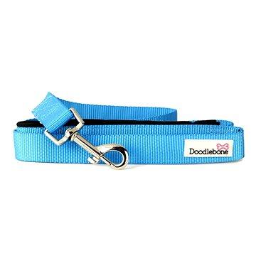 Vodítko Doodlebone Neon Blue L (0702811584839)