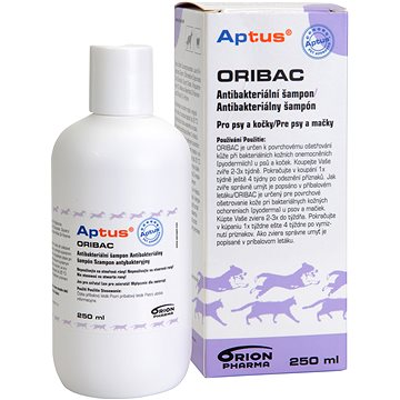 Aptus Oribac antibakteriální šampon 250 ml (6432100021489)