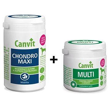 Canvit Chondro Maxi 230 g + Canvit Multi 100 g zdarma (8595602546510)