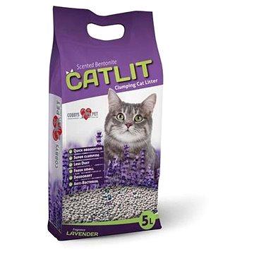 Catlit Podestýlka hrudkující s levandulí pro kočky 5l 4kg (8586020721139)