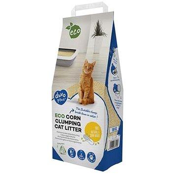 DUVO + Eco hrudkující podestýlka pro kočky z kukuřice 10kg (5414365374495)
