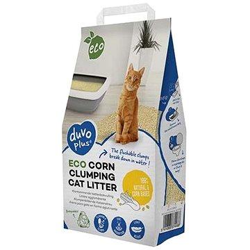 DUVO + Eco hrudkující podestýlka pro kočky z kukuřice 3,5kg (5414365374488)