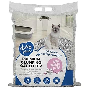 DUVO+ Podestýlka vysoce absorpční s pudrovou vůní 12kg (5414365328160)