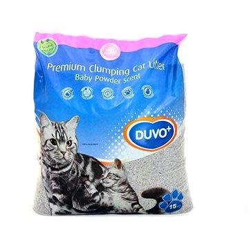DUVO+ Podestýlka vysoce absorpční s pudrovou vůní 15kg (5414365188702)