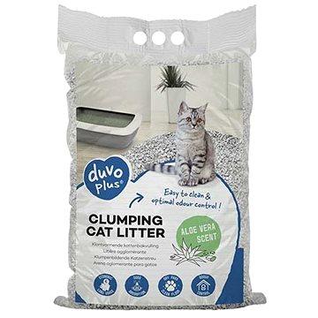 Duvo+ Hrudkující podestýlka pro kočky s vůní aloe vera 12kg (5414365379490)